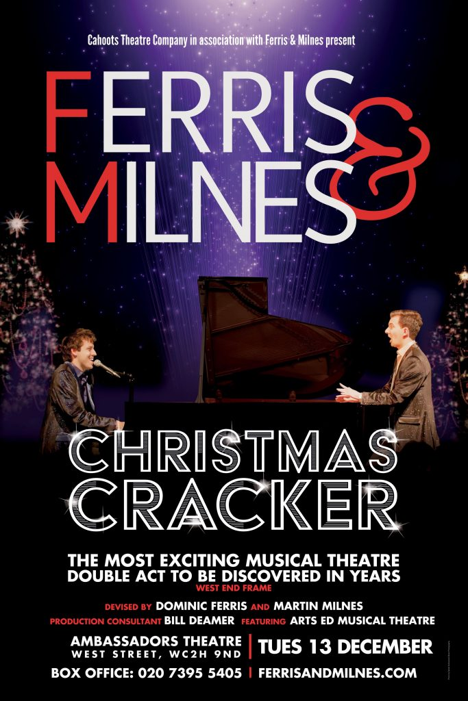 Ferris & Milnes - Christmas Cracker poster (small)